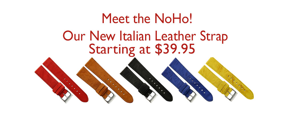 Italian Leather Watch Straps NoHo NYC